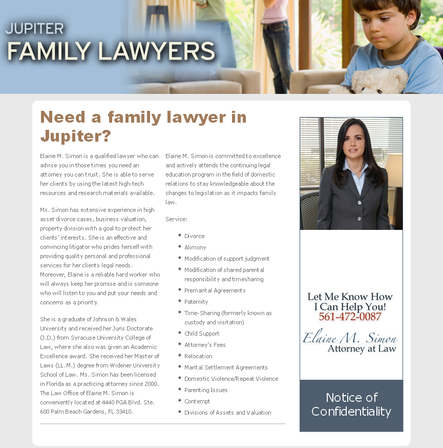 Jupiter Family Lawyer
